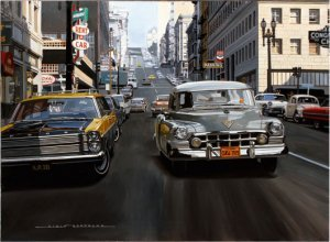 Alain Bertrand - Cadillac in San Francisco Street