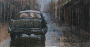 Dominique Leconte - Water Buick - 100x50