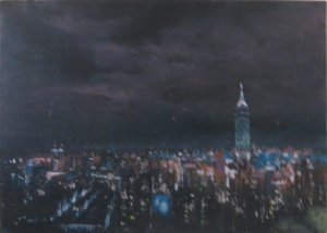 Dominique Leconte - Taipei by night - 81x55