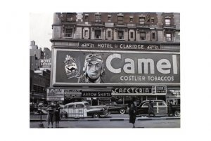 Alain Bertrand - Camel advertising